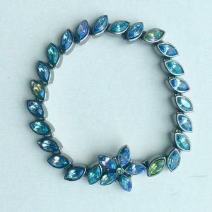 Givenchy Blue Crystal Marquise Bracelet
